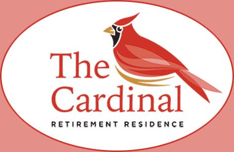 Front page header logo -a cardinal bird.